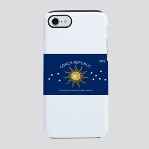 Conch Republic Plate iPhone 8/7 Tough Case