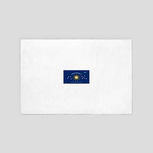 Conch Republic Plate 4' x 6' Rug
