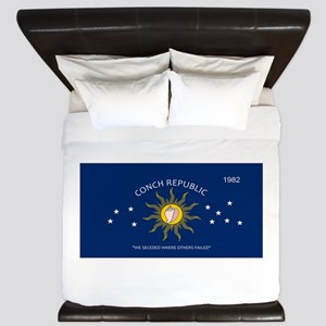 Conch Republic Plate King Duvet