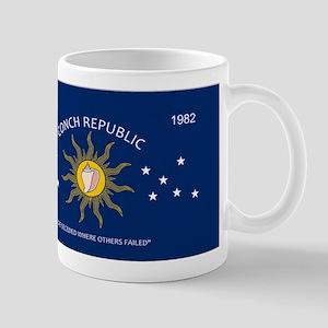 Conch Republic Plate Mugs