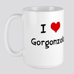I LOVE GORGONZOLA Large Mug