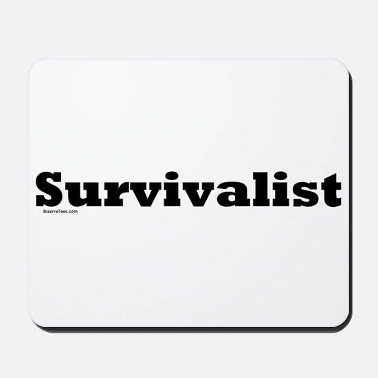 Survivalist Mousepad