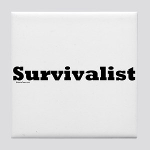 Survivalist Tile Coaster