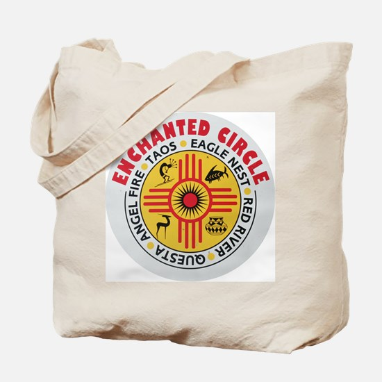 New Mexico's Enchanted Circle Tote Bag