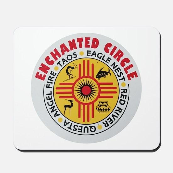 New Mexico's Enchanted Circle Mousepad