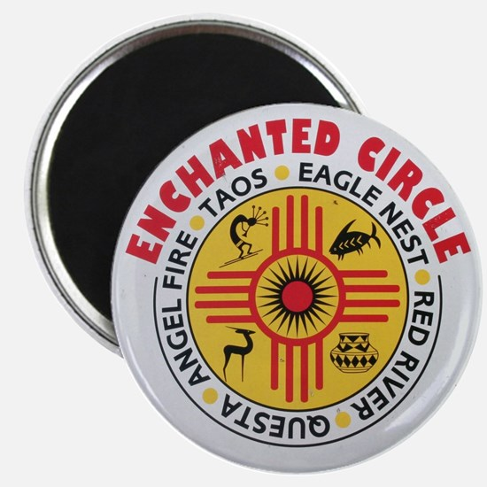 New Mexico's Enchanted Circle Magnet