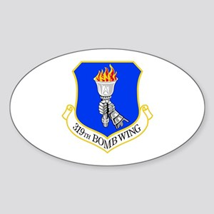 319th Oval Sticker