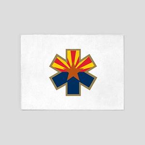 Arizona Star of Life 5'x7'Area Rug