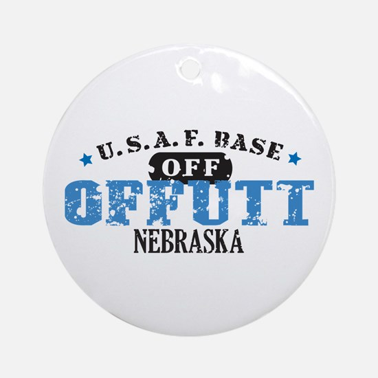 Offutt Air Force Base Ornament (Round)