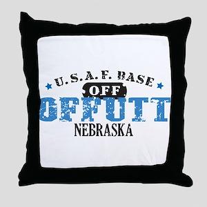 Offutt Air Force Base Throw Pillow