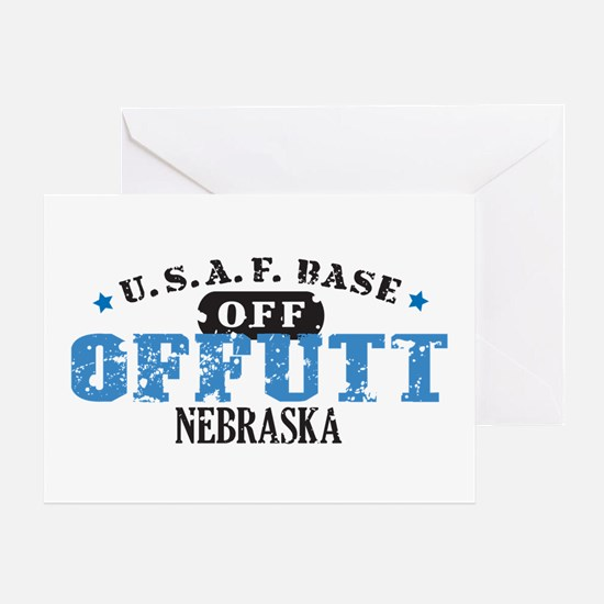 Offutt Air Force Base Greeting Card