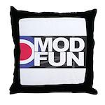 MOD FUN Throw Pillow
