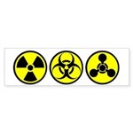 WMD / Chemical Weapons Bumper Sticker
