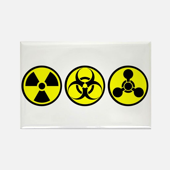 WMD / Chemical Weapons Rectangle Magnet