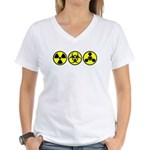 WMD / Chemical Weapons Women's V-Neck T-Shirt
