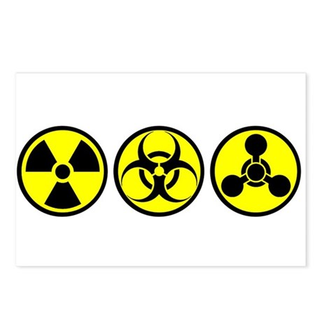 WMD / Chemical Weapons Postcards (Package of 8)