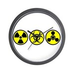 WMD / Chemical Weapons Wall Clock