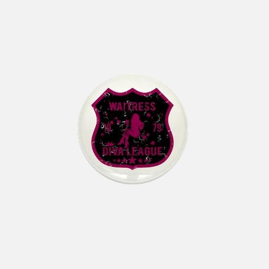 Waitress Diva League Mini Button