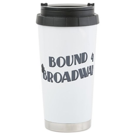 Bound 4 Broadway Stainless Steel Travel Mug