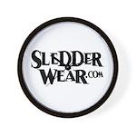 New SledderWear Logo Wall Clock
