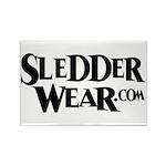 New SledderWear Logo Rectangle Magnet