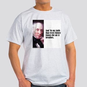 "Wordsworth ""Every Flower"" Light T-Shirt"