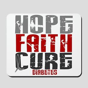 HOPE FAITH CURE Diabetes Mousepad
