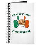 St. Patrick's Day - Fight Me I'm Irish Journal