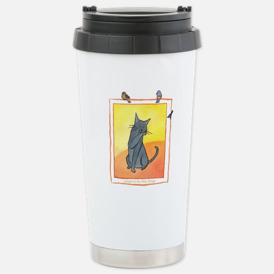 Cat-Delight in the Little Things Stainless Steel T