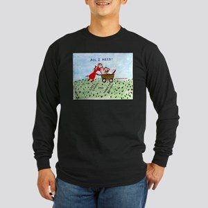 Tag Saler Long Sleeve Dark T-Shirt