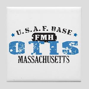 Otis Air Force Base Tile Coaster