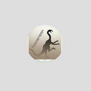 Struthiomimus Mini Button