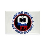 Barack Obama - Half Honkey, All Donkey Rectangle M