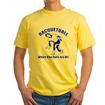 Racquetball Yellow T-Shirt