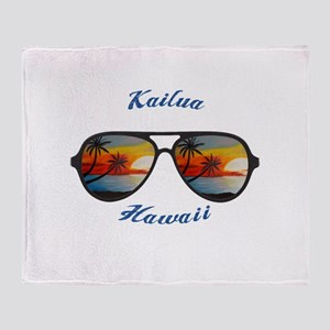 Hawaii - Kailua Throw Blanket