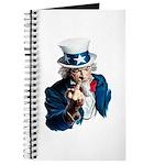 Uncle Sam Middle Finger Journal