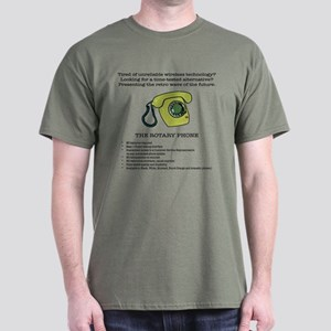 Wireless Phone Alternative Dark T-Shirt