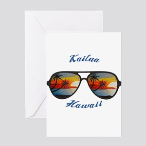 Hawaii - Kailua Greeting Cards