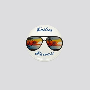 Hawaii - Kailua Mini Button