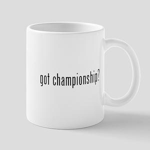 got championship? Mug