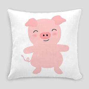 Cute Pig Everyday Pillow