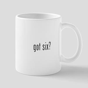 got six? Mug