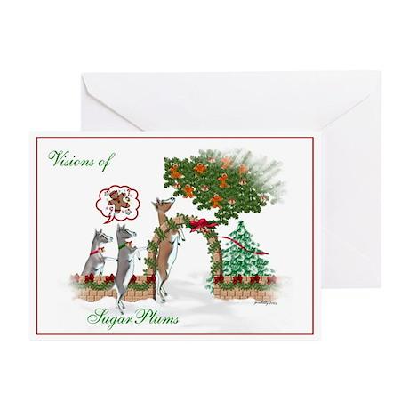 SugarPlum Toggenburg Goats Greeting Cards (Packag