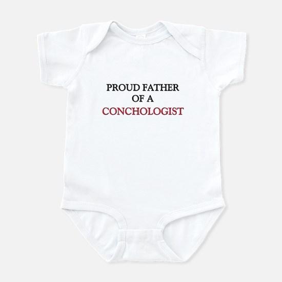 Proud Father Of A CONCHOLOGIST Infant Bodysuit