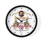 Ring Cycle Survivor Wall Clock