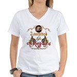 Ring Cycle Survivor Women's V-Neck T-Shirt