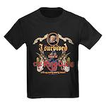 Ring Cycle Survivor Kids Dark T-Shirt
