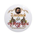 Ring Cycle Survivor Ornament (Round)