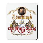 Ring Cycle Survivor Mousepad
