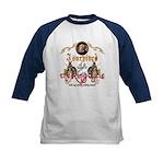 Ring Cycle Survivor Kids Baseball Jersey